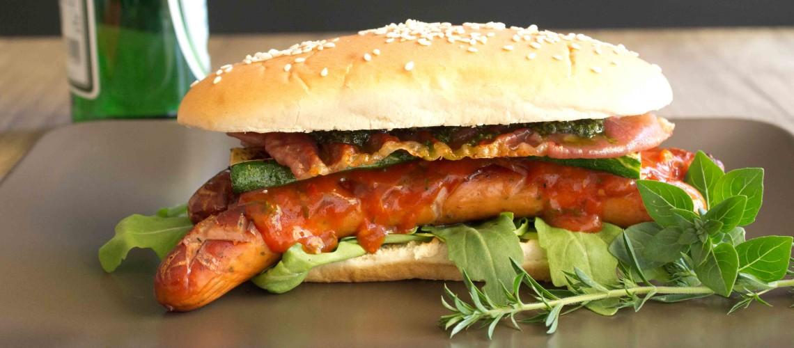 bbq hot dog italia koechl kocht. Black Bedroom Furniture Sets. Home Design Ideas